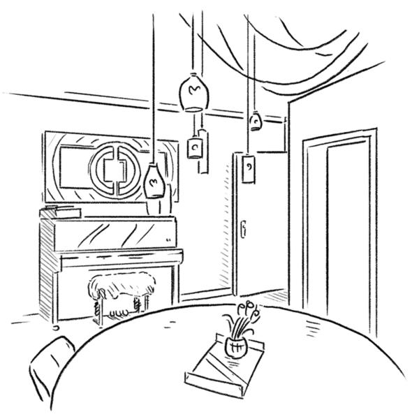 Antoine - Klavierzimmer